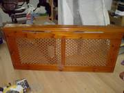 Radiator Cover Antique Pine (Old Style)