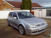 02 plate golf, 1.4, silver, full bodykit,  lowered, £2700 or nearest offer